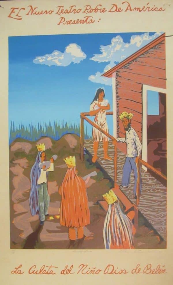 Esteban Antonmarchi - La culata del niño Dios en Belen