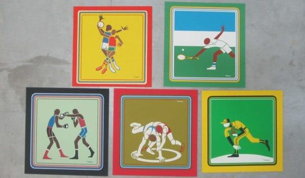 Lorenzo Homar - Carteles Panamericanos (Varios deportes)