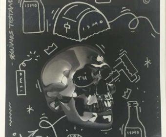 Bik Ismo- Chrome Skull