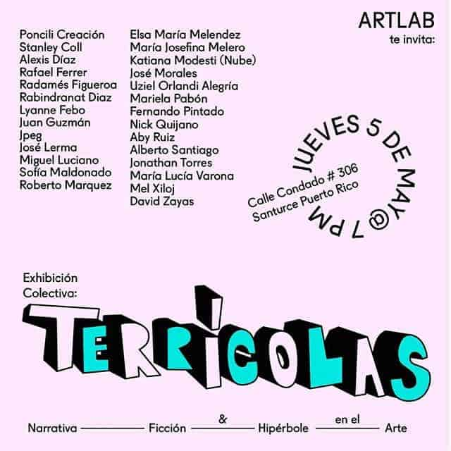 Terricolas @ Art Lab Gallery