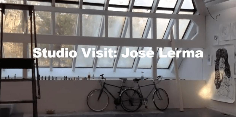 Studio Visit, Jose Lerma