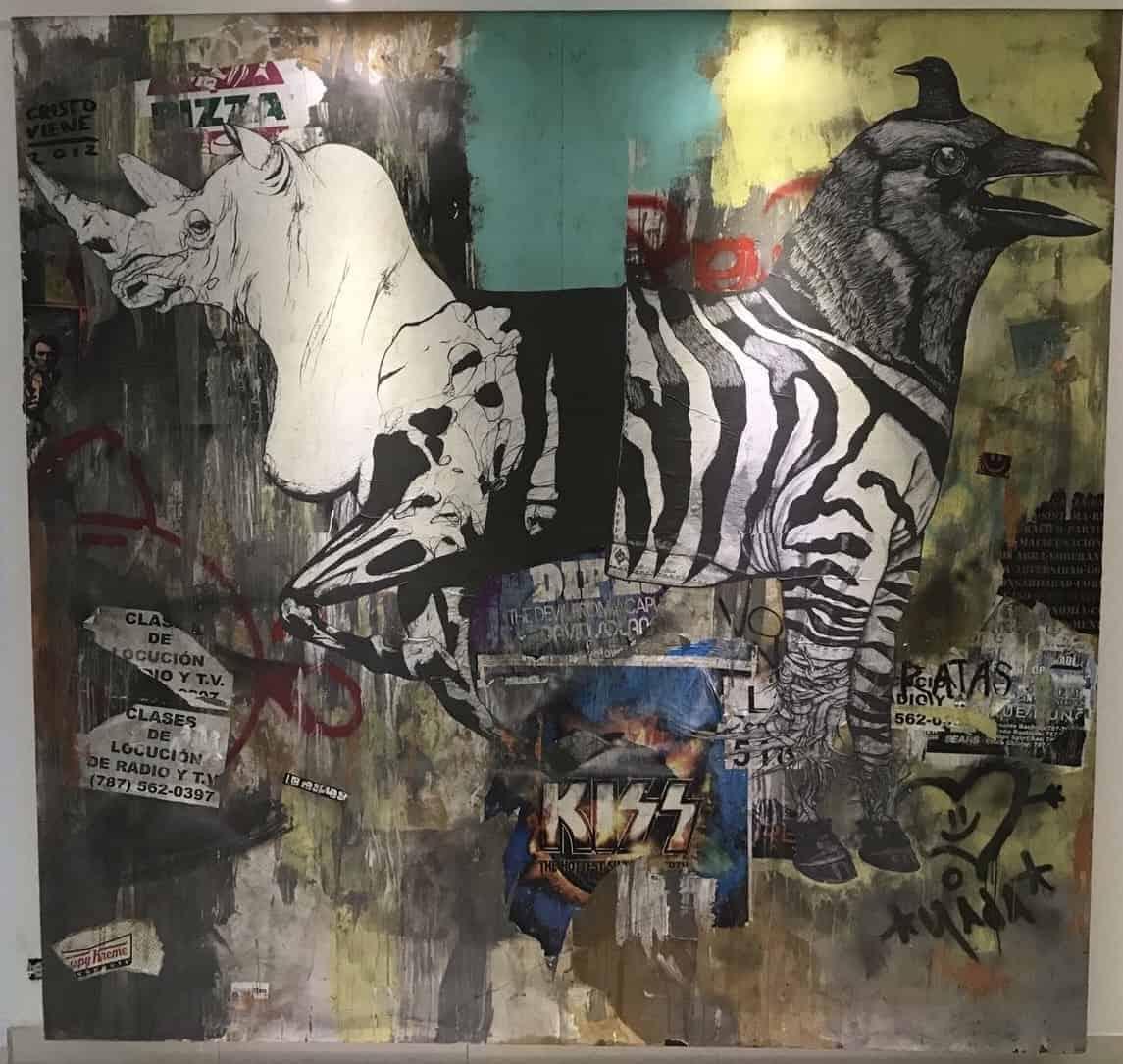 Alexis Diaz aka La Pandilla, Santurce Wall